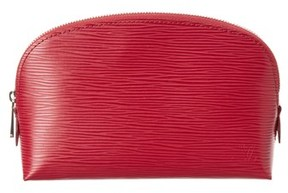 Louis Vuitton Fuchsia Epi Leather Cosmetic Pouch.
