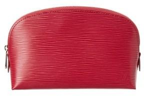 Louis Vuitton Fuchsia Epi Leather Cosmetic Pouch.