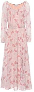 Co Floral-printed silk dress