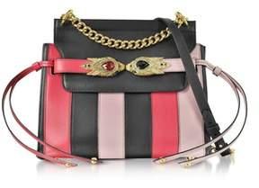 Roberto Cavalli Women's Black Leather Shoulder Bag