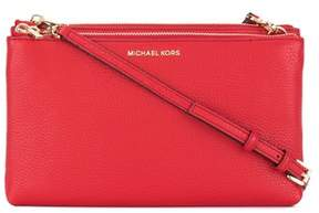 Michael Kors Women's Red Leather Shoulder Bag. - RED - STYLE