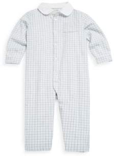 Ralph Lauren Baby's Plaid Cotton-Twill Coverall