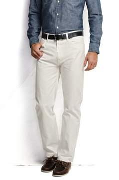 Lands' End Lands'end Men's Ring Spun Straight Fit Jeans
