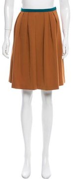 Antonio Marras Colorblock Wool-Blend Skirt w/ Tags