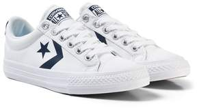 Converse White Star Player EV Ox Trainers