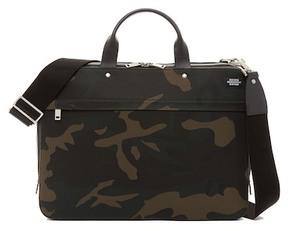 Jack Spade Slim Camo Briefcase