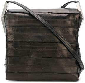 Rick Owens textured shoulder bag