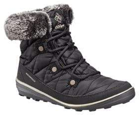 Columbia Heav Faux Fur-Collar Waterproof Boots