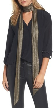 Halogen Women's Lame Skinny Scarf
