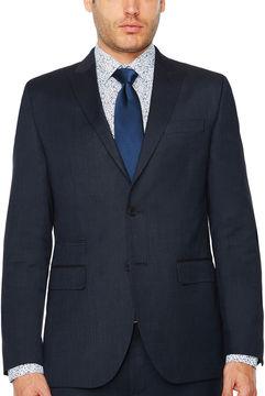 Jf J.Ferrar Pin Dot Slim Fit Stretch Suit Jacket-Slim