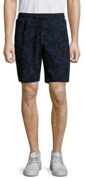 Michael Kors Subtle Camouflage Print Drawstring Shorts