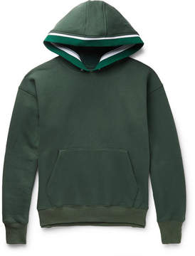 Noon Goons Outfield Fleece-Back Cotton-Jersey Hoodie