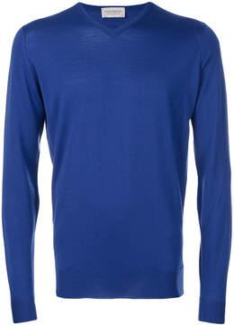 John Smedley V-neck jumper