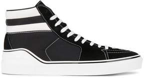 Givenchy Black & White Skate Hi Top sneakers