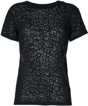 Diesel semi-sheer T-shirt
