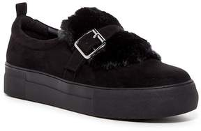 Not Rated Beverly Faux Fur Trimmed Platform Sneaker