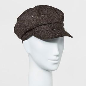 Mossimo Women's Newsboy Hat Brown
