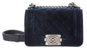 Chanel Mini Velvet Boy Bag