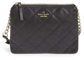 Kate Spade New York Emerson Place Harbor Leather Crossbody Bag - Black