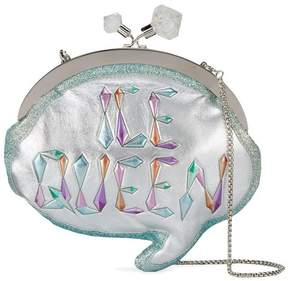 Sophia Webster Ice Queen Speech Bubble Clutch Bag