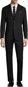 Michael Bastian Gray Label Men's Wool Flannel Peak Lapel Suit