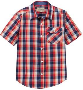 Lucky Brand Plaid Shirt (Big Boys)