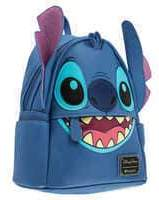 Disney Stitch Faux Leather Mini Backpack by Loungefly