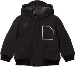 BOSS Black Fleece Lined Hooded Parka