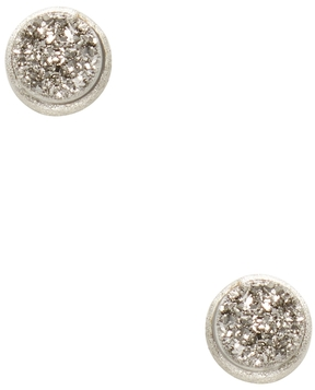Rivka Friedman Women's Druzy Stud Earrings