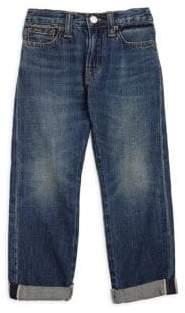 Ralph Lauren Toddler's, Little Boy's& Boy's Finn Wash Sullivan Cotton Jeans