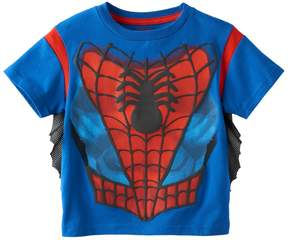 Marvel Toddler Boy Spider-Man Puffy Character Tee