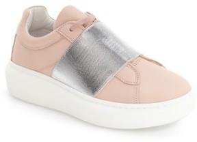 Topshop Women's Turin Metallic Strap Platform Sneaker