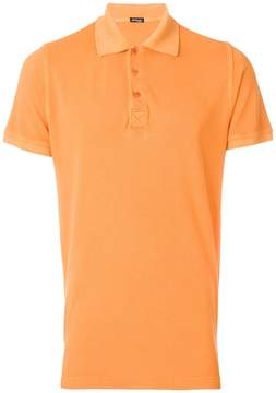Kiton short-sleeved polo shirt