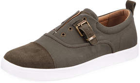Michael Bastian Men's Ossie Buckle Canvas Sneakers