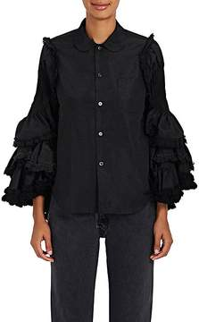 Comme des Garcons Women's Ruffled-Bell-Sleeve Blouse