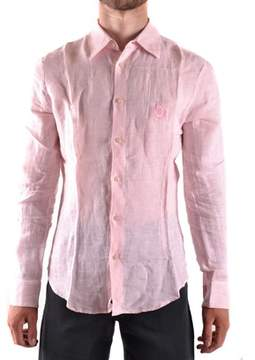 Iceberg Men's Pink Linen Shirt.