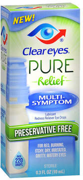 Clear eyes Pure Relief Multi-Symptom Eye Drops