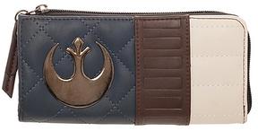 Navy & Brown Han Solo Zip Wallet