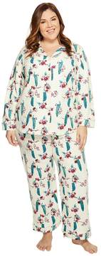 BedHead Plus Size Long Sleeve Classic Pajama Set
