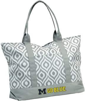 NCAA Logo Brand Michigan Wolverines Ikat Tote