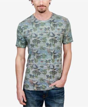 Lucky Brand Men's Novelty Palm Tree-Print T-Shirt