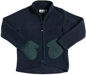 Molo Fleece Jacket With Mitten Pockets