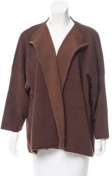 eskandar Oversize Wool Cardigan