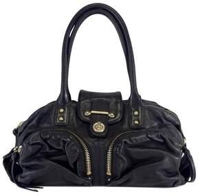 Botkier Black Leather Gold Hardware Shoulder Bag