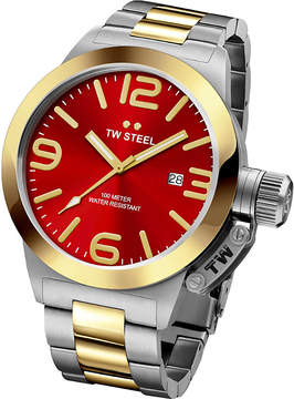 TW Steel CB71 Canteen steel and yellow gold watch