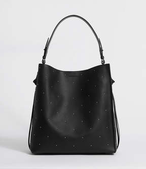 AllSaints Kathi Leather North South Tote Bag