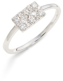 Bony Levy Women's Mika Cushion Diamond Stacking Ring (Nordstrom Exclusive)