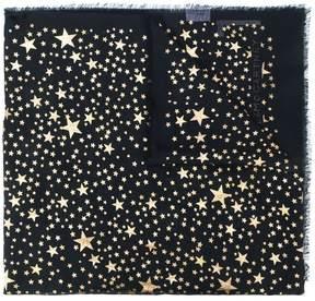 Stella McCartney Stars metallic fil coupé scarf