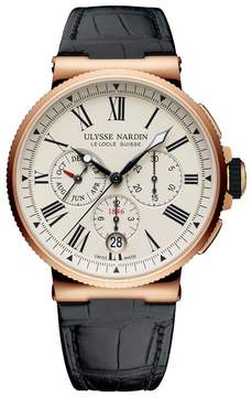 Ulysse Nardin Marine Chronograph Automatic Men's Annual Calendar Watch