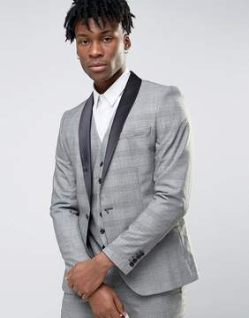 Selected Wedding Check Suit Jacket